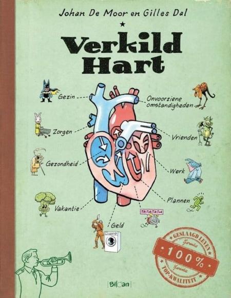 Verkild hart
