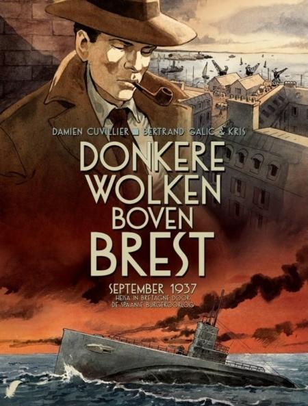 Donkere wolken boven Brest